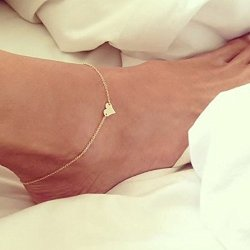 Sandistore-Girl-Simple-Heart-Ankle-Bracelet-Chain-Beach-Foot-Sandal-Jewelry--0
