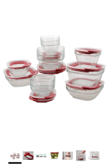 Want: Glass Food Storage