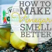 How To Make Vinegar Smell Better