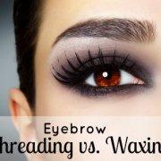 Eye with black fashion make-up