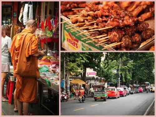 Market in Bangkok, Thailand