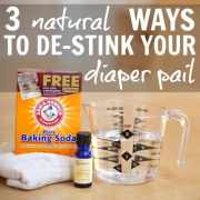 3 Natural Ways To DeStink Your Diaper Pail