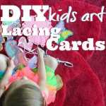 DIY Kids Art Lacing Cards-3