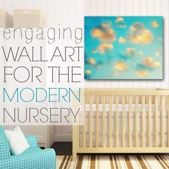 Engaging wall art for the modern nursery daily mom - Modern nursery wall decor ...