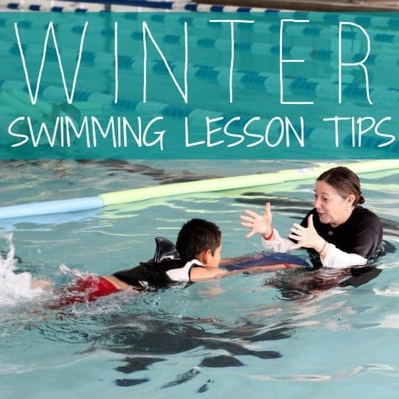 Winter Swimming Lesson Tips » Daily Mom