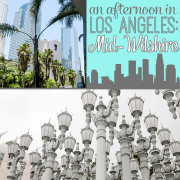 An Afternoon in Los Angeles Mid Wilshire