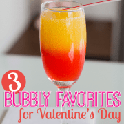 Bubbly Drink Favorites for Valentines Day