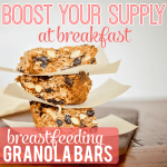 Breastfeeding Bars Pinterest