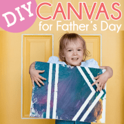 DIY Canvas for Fathers Day