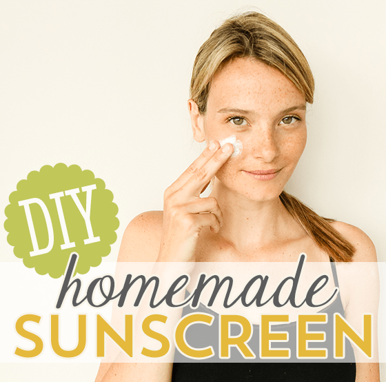 DIY Homemade Sunscreen