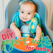 DIY Yogurt Melts for Baby