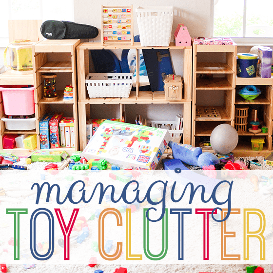 Managing Toy Clutter