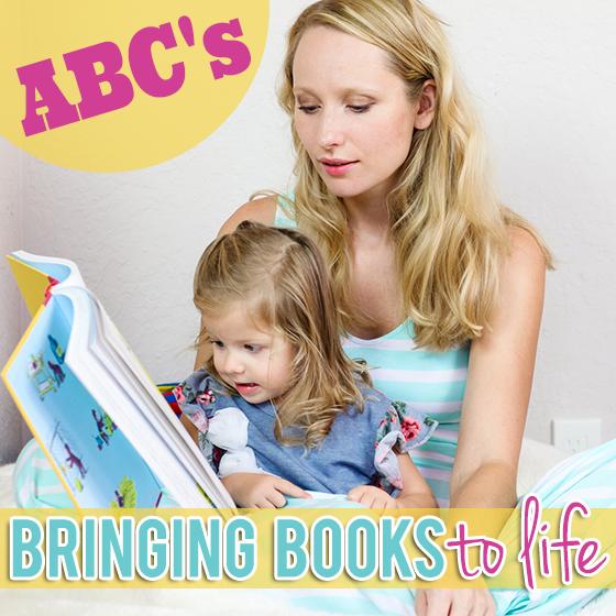Bringing Books to Life-ABCs
