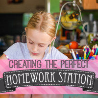 Creating the Perfect Homework Station