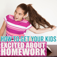 How To Get Your Kids Excited About Homework