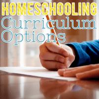Homeschooling Curriculum Options