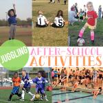 Juggling Afterschool Activities