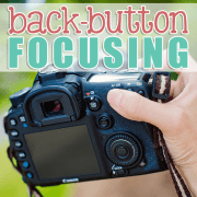 Back Button Focusing