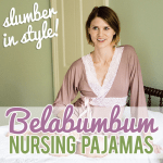 Slumber in Style Belabumbum Nursing Pajamas