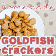 Homemade Goldfish Crackers