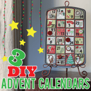 3 DIY Advent Calendars