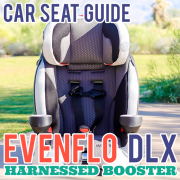 Car Seat Guide Evenflo DLX Harnessed Booster