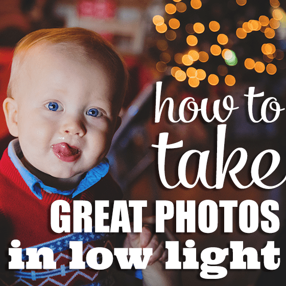 How to Take Great Photos in Low Light