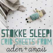 Stokke Sleepi Crib Sheets from aden anais