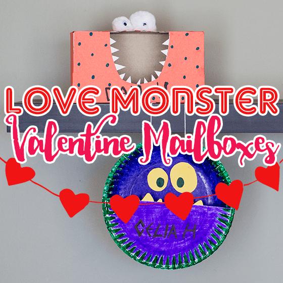 Love Monster Vaneltine Mailboxes