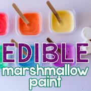 Edible Marshmallow Paint