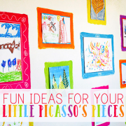 fun ideas for your little picassos pieces