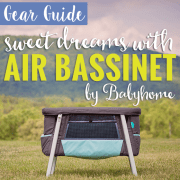 Air Bassinet by Babyhome Pin 2