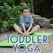 Toddler Yoga Pin Image