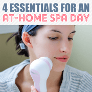 4 essentials for an at home spa day
