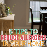 5 Tips to Reduce Allergens in Your Home