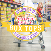 How to Reedem your Box Top For Education 2