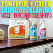 Powerful Green Laundry Cleaning with Boulder Cleaners