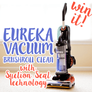 WIN It Eureka Vacuum Brushroll Clean with Suction Seal Technology