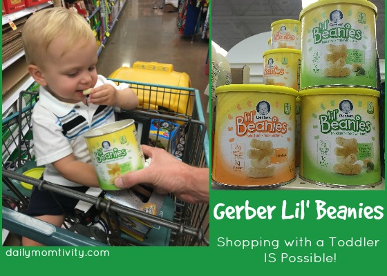 Gerber Lil Beanies Make Shopping with a Toddler Possible!