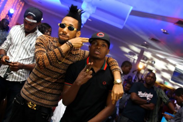 L-R Phyno and Olamide