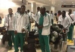 Eagles arrive in Nairobi