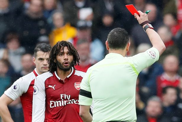 Image result for el neny red card