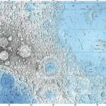 Full Topographic Map of the Moon Released by USGS