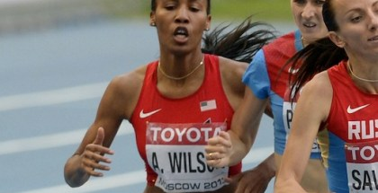 Ajee' Wilson in Moscow