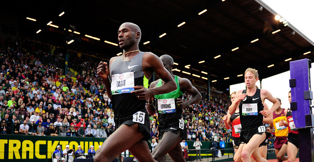 USA Championships Friday Report: Bumbalough close, but Lagat prevails again