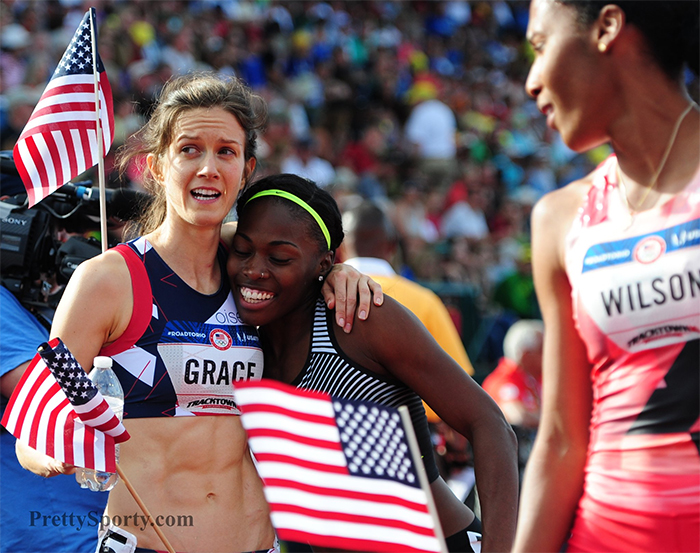 Grace wins 800 to cap journey from near-retirement to Olympics