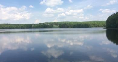 Fishing at Maple Lake. (Nicole Thurber, 2016)