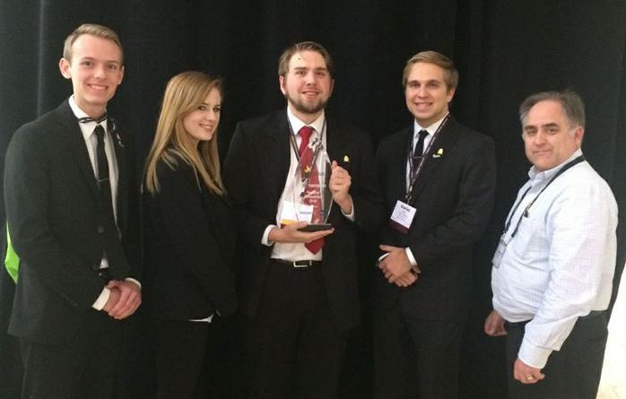 Part of Regent's Enactus team at the Regional Competition (Regent Enactus)