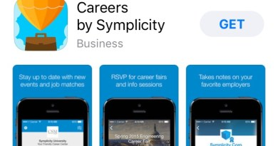 Careers app helps students in job search
