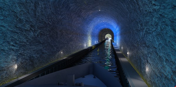World's First Ship Tunnel in Norway